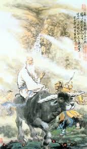 Lao Zi op zijn zwarte buffel
