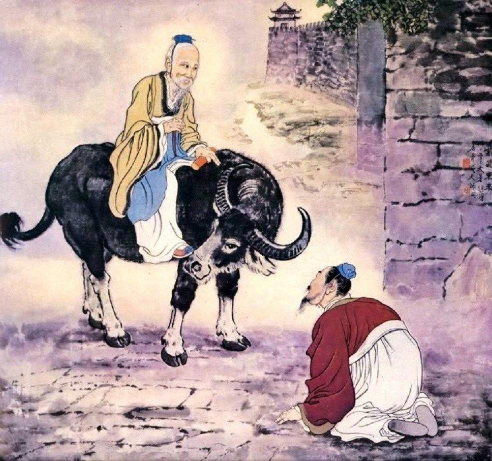 Yin xi begroet Lao Zi